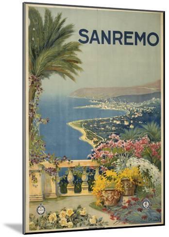 San Remo--Mounted Art Print