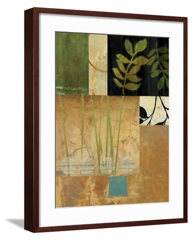 Leaves of Green II-Andrew Michaels-Framed Art Print