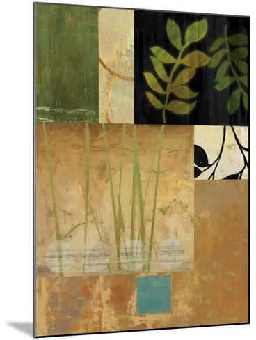 Leaves of Green II-Andrew Michaels-Mounted Art Print