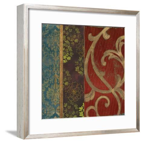 Embroidered I-Andrew Michaels-Framed Art Print