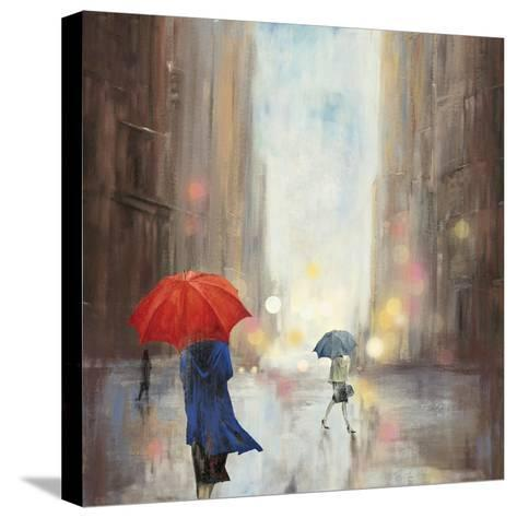 In the City-Sloane Addison ?-Stretched Canvas Print