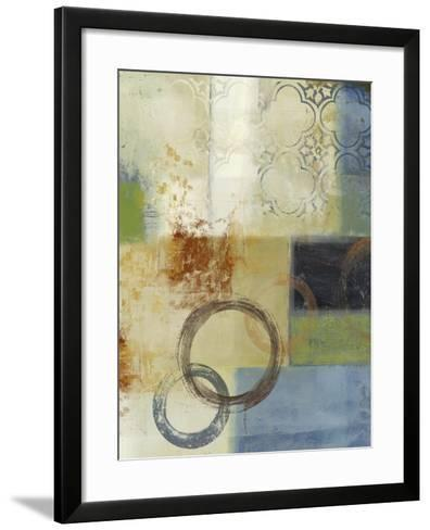 Composition in Blue II-Andrew Michaels-Framed Art Print