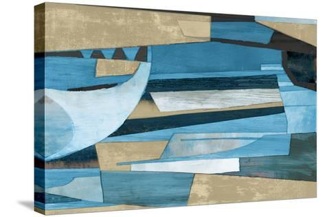 Cubist Shapes-Anna Polanski-Stretched Canvas Print