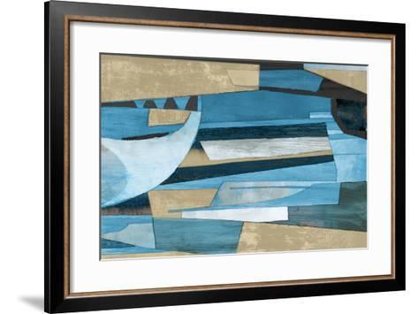 Cubist Shapes-Anna Polanski-Framed Art Print