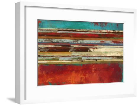 Worn Red-Sloane Addison ?-Framed Art Print