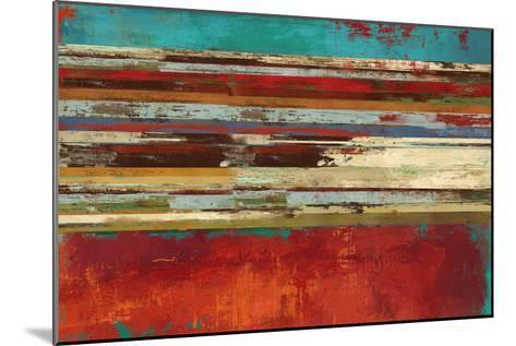 Worn Red-Sloane Addison ?-Mounted Art Print