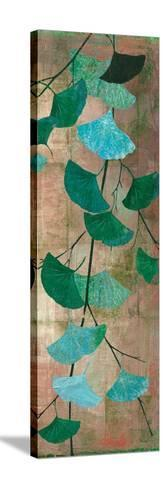 Azure Branch II-Andrew Michaels-Stretched Canvas Print