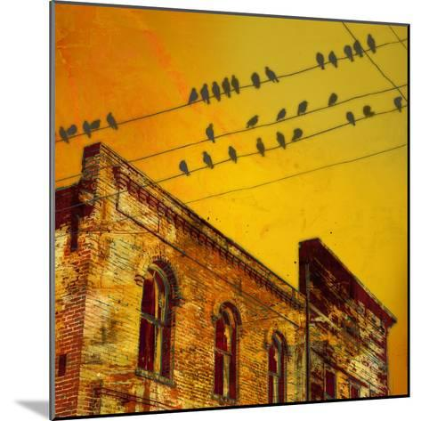 Birds on a Wire I-James McMasters-Mounted Art Print