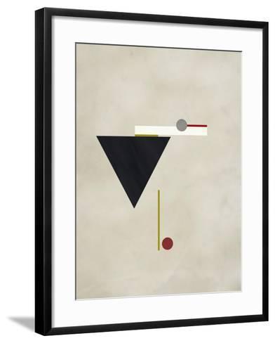Triangle Love-Kevin Calaguiro-Framed Art Print