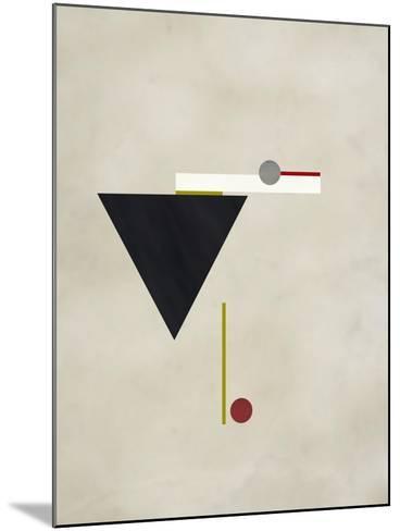 Triangle Love-Kevin Calaguiro-Mounted Art Print