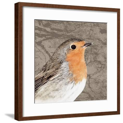 Feathered V-Anna Polanski-Framed Art Print