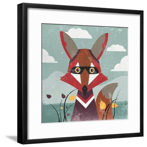 Fox-Anna Polanski-Framed Art Print