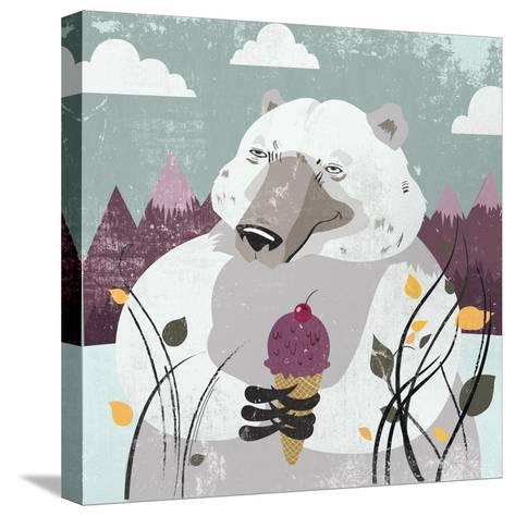Polar Bear-Anna Polanski-Stretched Canvas Print