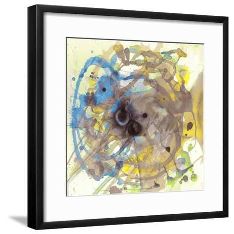 Watercolour Abstract I-Anna Polanski-Framed Art Print