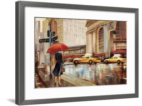 In the City-Sloane Addison ?-Framed Art Print