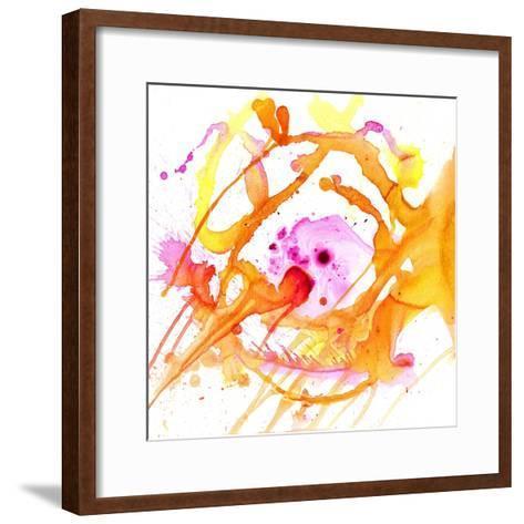 Watercolour Abstract V-Anna Polanski-Framed Art Print