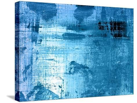 Bleu-Anna Polanski-Stretched Canvas Print