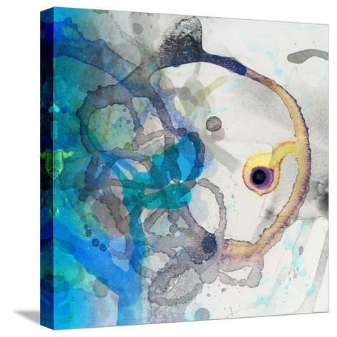 Watercolour Abstract II-Anna Polanski-Stretched Canvas Print