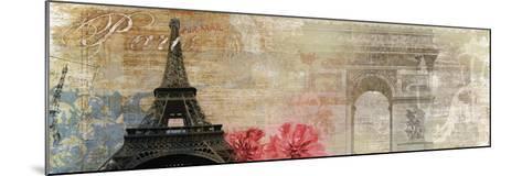Paris-Andrew Michaels-Mounted Art Print