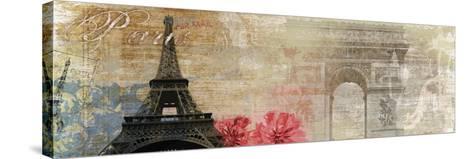 Paris-Andrew Michaels-Stretched Canvas Print