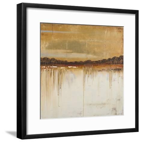 Melting Gold I-Patricia Pinto-Framed Art Print