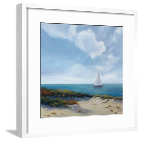 Shoreline Marshes II-Vivien Rhyan-Framed Art Print