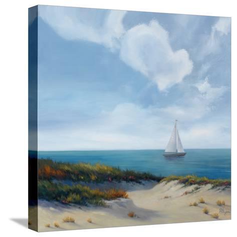 Shoreline Marshes II-Vivien Rhyan-Stretched Canvas Print