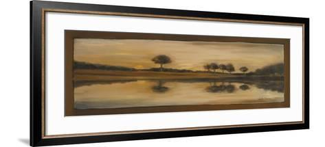 Sepia Landscape II-Nelly Arenas-Framed Art Print