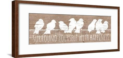 Surround with Happiness-Patricia Pinto-Framed Art Print