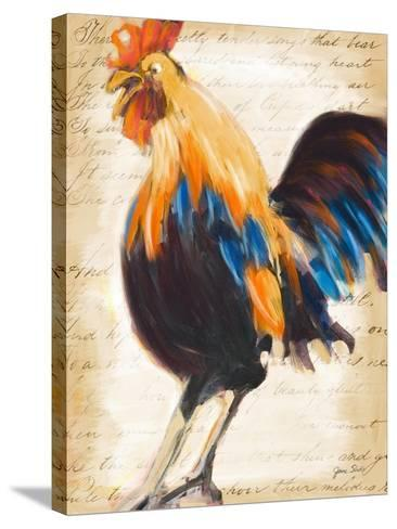 Morning Glory II-Jane Slivka-Stretched Canvas Print