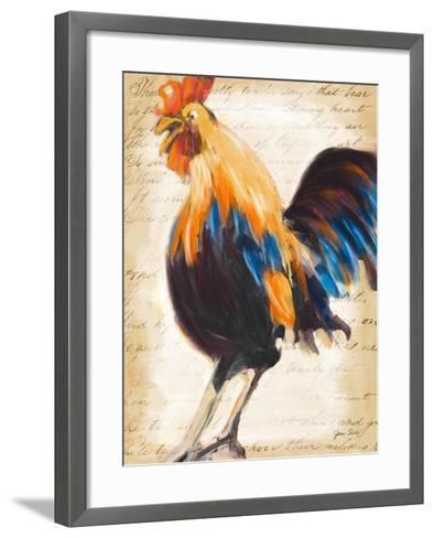 Morning Glory II-Jane Slivka-Framed Art Print