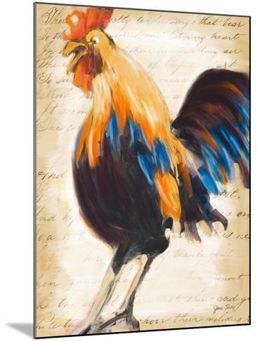 Morning Glory II-Jane Slivka-Mounted Premium Giclee Print