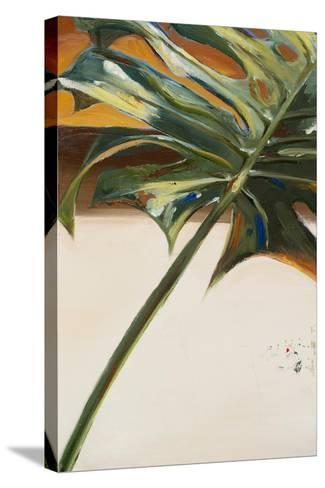 The Green Leaf I-Patricia Pinto-Stretched Canvas Print