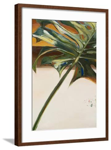 The Green Leaf I-Patricia Pinto-Framed Art Print