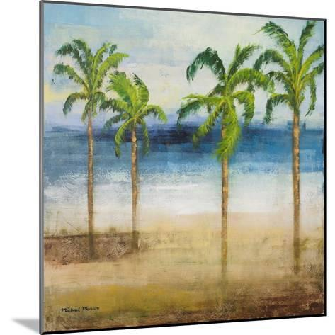Ocean Palms I-Michael Marcon-Mounted Premium Giclee Print