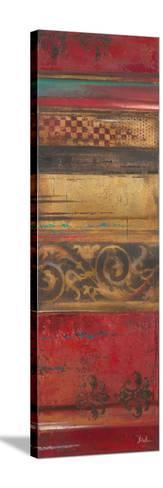Eclecticism on Red-Patricia Pinto-Stretched Canvas Print