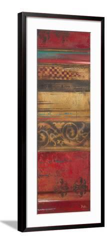 Eclecticism on Red-Patricia Pinto-Framed Art Print