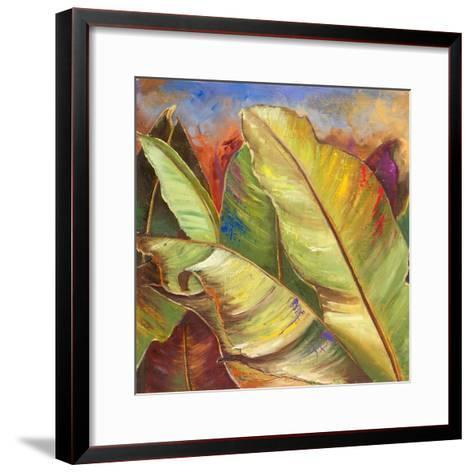 Through the Leaves Square I-Patricia Pinto-Framed Art Print