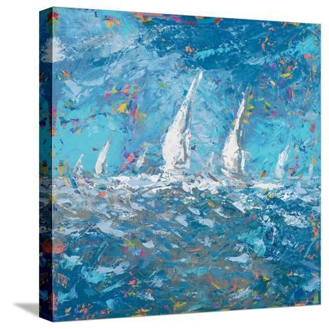 Sailing I-Kingsley-Stretched Canvas Print