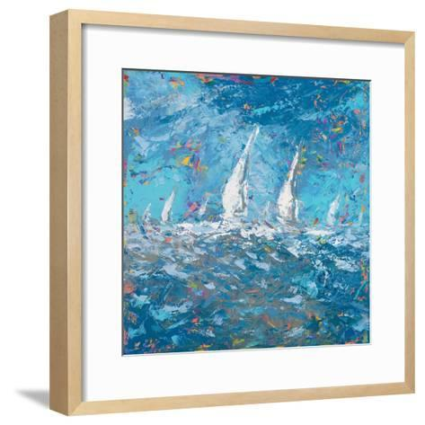 Sailing I-Kingsley-Framed Art Print