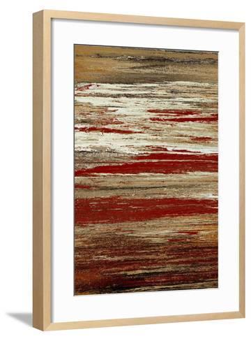 Seated Sunset-Roberto Gonzalez-Framed Art Print