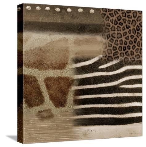 Africa Square II-Patricia Pinto-Stretched Canvas Print