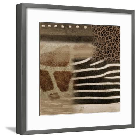 Africa Square II-Patricia Pinto-Framed Art Print