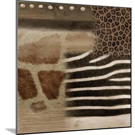 Africa Square II-Patricia Pinto-Mounted Art Print