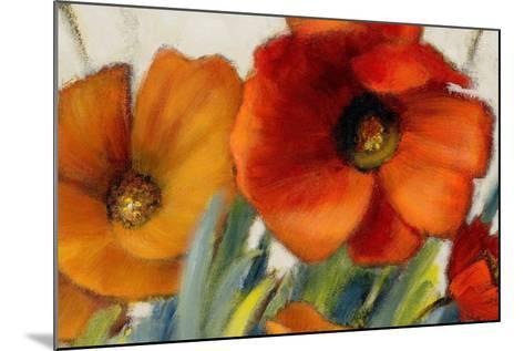 Poppy Splendor II-Lanie Loreth-Mounted Premium Giclee Print