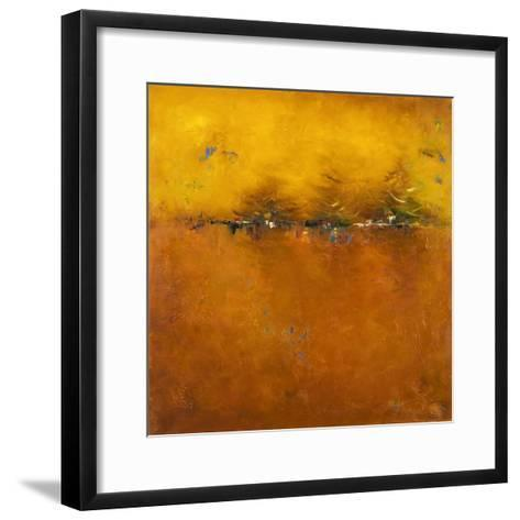 Orange Sunset-Patricia Pinto-Framed Art Print