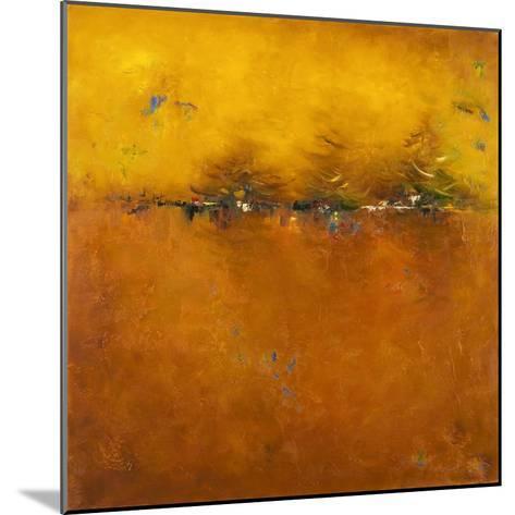 Orange Sunset-Patricia Pinto-Mounted Premium Giclee Print