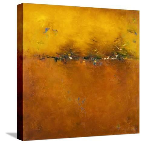 Orange Sunset-Patricia Pinto-Stretched Canvas Print