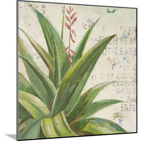 Aloe II-Patricia Pinto-Mounted Premium Giclee Print