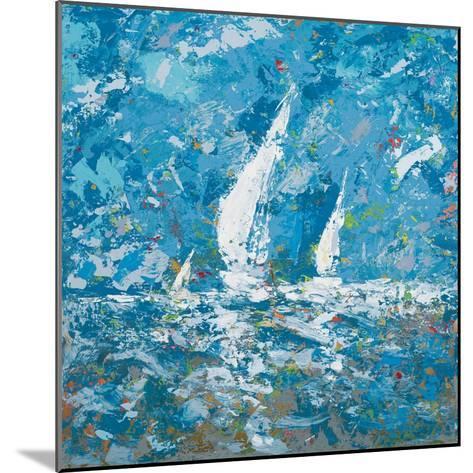 Sailing II-Kingsley-Mounted Premium Giclee Print